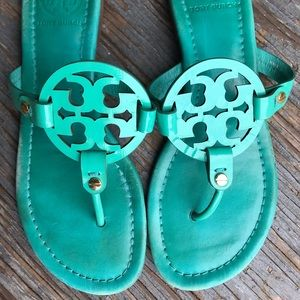 Super cute Tory Burch Miller's great summer color!